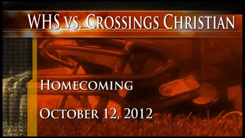 Thumbnail for entry WHS vs. Crossings Christian