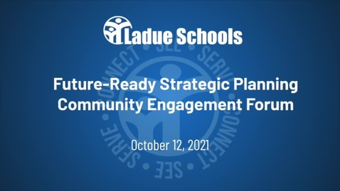 Thumbnail for entry Future-Ready Strategic Planning Community Engagement Forum