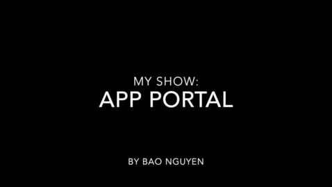 Thumbnail for entry My Show: Bao N.