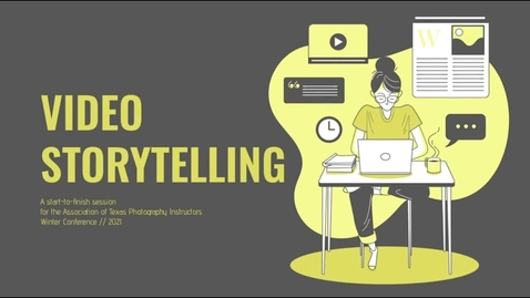 Thumbnail for entry Video Storytelling with Alyssa Boehringer ATPI 2021 Conference