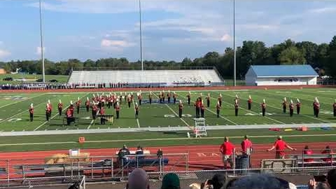 Thumbnail for entry Owen J. Roberts Middle School Marching Band - Spring Ford Cavalcade Performance - 09.18.2021