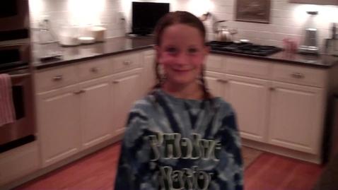 Thumbnail for entry Lauren Makes Waffles