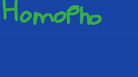 Thumbnail for entry Animated Homophones: One and Won