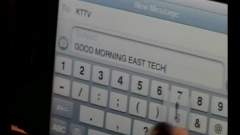 Thumbnail for entry 02-04-11 Good Morning East Tech Friday Edition
