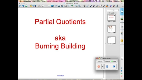 Thumbnail for entry Partial Quotients 2