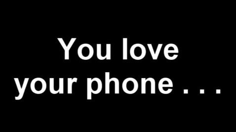 Thumbnail for entry Cell Phone Usage PSA