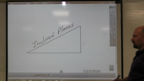 Thumbnail for entry Incline Plane - Mechanical Advantage Calculation Examples