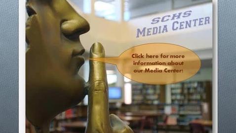 Thumbnail for entry SCHS Media Center Information