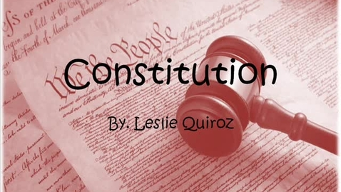 Thumbnail for entry constitution