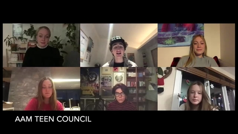 Thumbnail for entry AAM Teen Council Interview