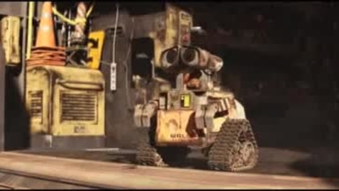 Thumbnail for entry Wall-E - NEW Helpdesk Coming May 12, 2010