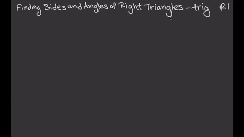 Thumbnail for entry PC Remote 1 Angles and Side Trig