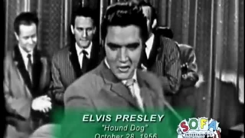 "Thumbnail for entry ELVIS PRESLEY ""Hound Dog"" on The Ed Sullivan Show"