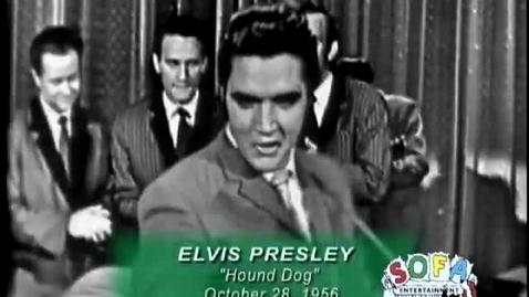 "Thumbnail for entry ELVIS PRESLEY ""Hound Dog"" on The Ed Sullivan Show"