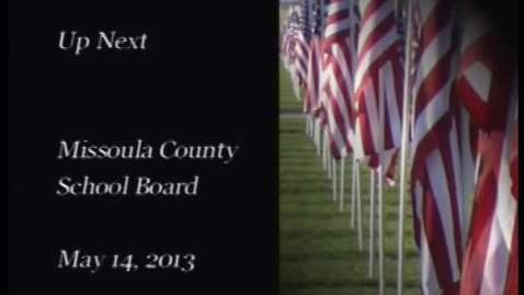 Thumbnail for entry MCPS School Board Meeting May 14, 2013