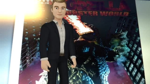 Thumbnail for entry Book Talk - Godzilla Comics - JAMES