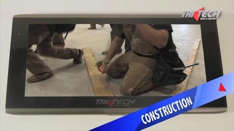 Thumbnail for entry Tri Tech Construction Trades