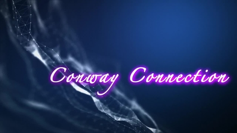 Thumbnail for entry Conway Connection, Episode 17, 1/28/19, Walt Disney