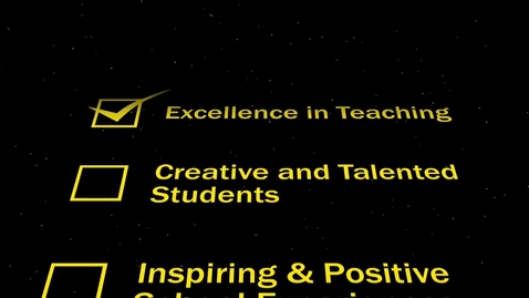 """Thumbnail for entry APT Commercial: 2017 """"How We Achieve Excellence in Our School"""" Video Promo"""