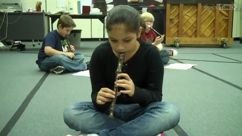 Thumbnail for entry Jazalynn recorder solo, 2011, Dabbs Elementary