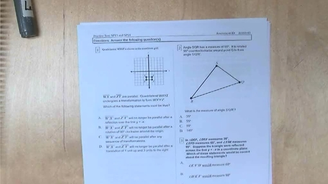 Thumbnail for entry Answers to and Explanation of the SP13 and SP14 Practice Test