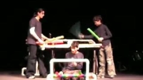Thumbnail for entry Shine Unconventional Percussion Boomwhackers Plus!