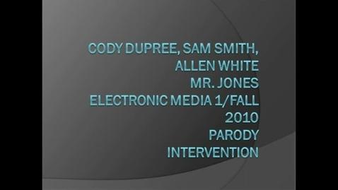 Thumbnail for entry Cody/Sam/Allen