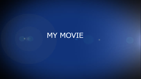 Thumbnail for entry Adobe After Effects: My Movie