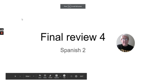 Thumbnail for entry FINAL REVIEW 4 SP 2 FALL 2020