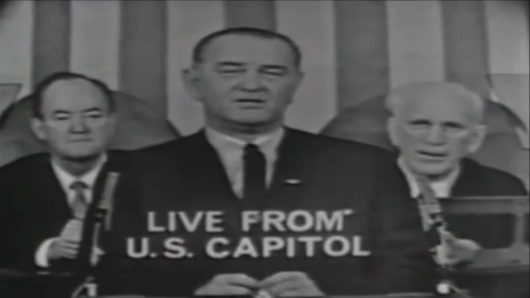 Thumbnail for entry 18-3 President Lyndon B. Johnson 39s Voting Rights Act Speech