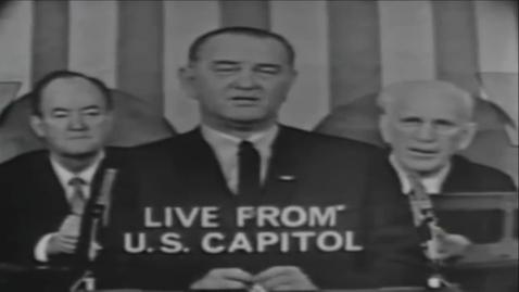 Thumbnail for entry 18-3 President Lyndon B. Johnson 39s Voting Rights Act Speech