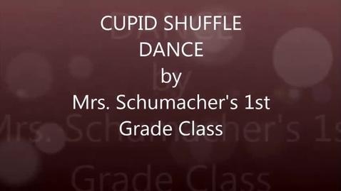 Thumbnail for entry Mrs. Schumacher's 1st grade: Cupid Shuffle dance