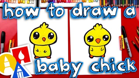 Thumbnail for entry How To Draw A Cartoon Baby Chick