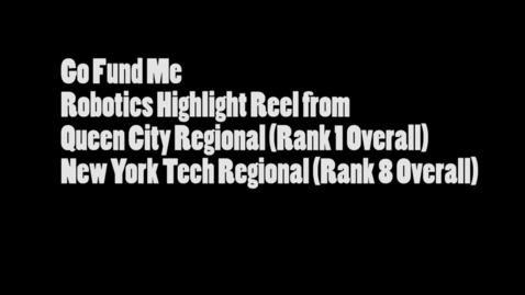 Thumbnail for entry Robotics Kickstarter - WSCN PTV (2015-2016)