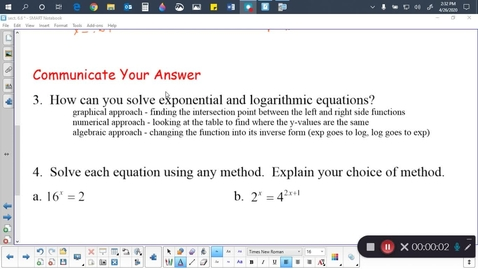 Thumbnail for entry Alg 2B Sect. 6.6 (part 2)