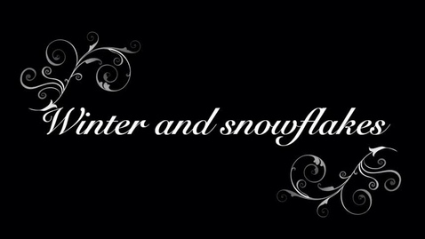Thumbnail for entry Conway Connection, episode #18, Snowflakes and winter, 12/4/17