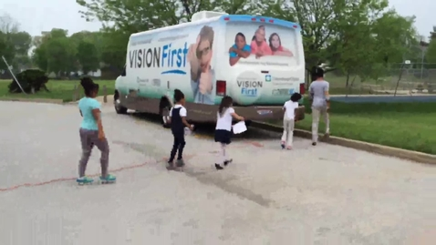 Thumbnail for entry Cleveland Clinic Vision Bus at CMSD's Douglas MacArthur Girls' Leadership Academy