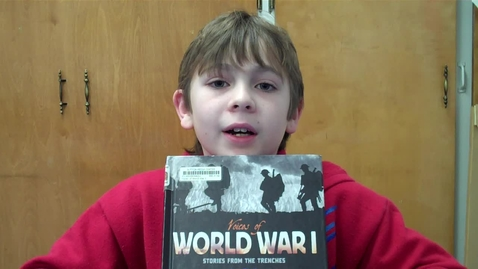 Thumbnail for entry Jason C.'s Book Recommendation - Voices of World War I