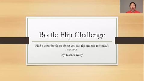 Thumbnail for entry Bottle Flip Challenge 6-8