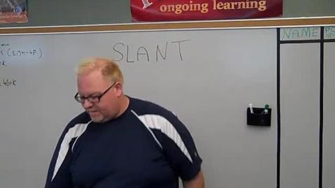 Thumbnail for entry SLANT