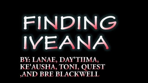 Thumbnail for entry Finding Iveana - WSCN Short Film 2015/2016