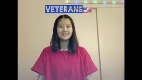 Thumbnail for entry Veteran's Day 2020