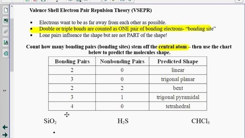 Thumbnail for entry Bond Lengths & Strengths Notes