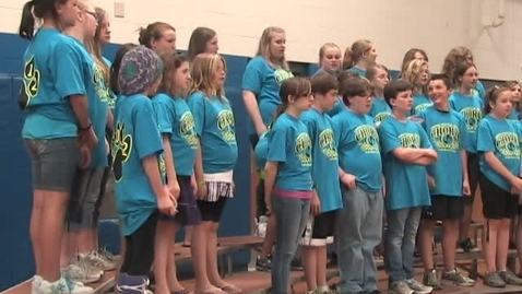 Thumbnail for entry Star Spangled Banner sang by Lisbon Central School Choir