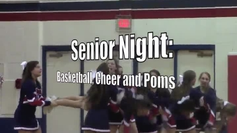 Thumbnail for entry Senior Night Basketball Game