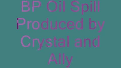 Thumbnail for entry BP Oil Spill