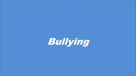 Thumbnail for entry Bullying