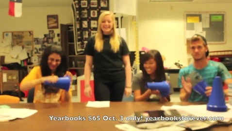 Thumbnail for entry Get Your Yearbook Before They're Gone