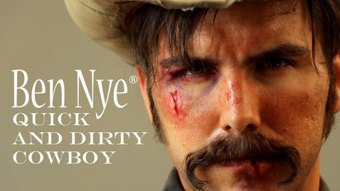 Thumbnail for entry Quick and Dirty Cowboy | Makeup Tutorial | Halloween Tips from Ben Nye
