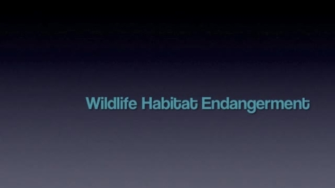 Thumbnail for entry Wildlife & Endangered Species
